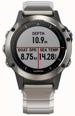 Garmin Quatix 5 | saphir | smartwatch marine 010-01688-42