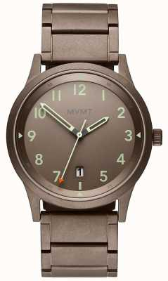 MVMT | champ | bracelet en acier plaqué ion | cadran gris 28000020-D