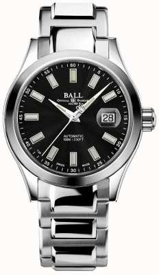 Ball Watch Company Hommes   ingénieur iii   marvelight   acier inoxydable   cadran noir NM2026C-S23J-BK