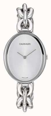 Calvin Klein | déclaration des femmes | bracelet chaîne en acier inoxydable | K9Y23126
