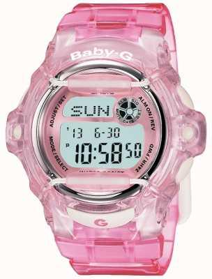 Casio Affichage numérique Baby G Pink Strap BG-169R-4ER