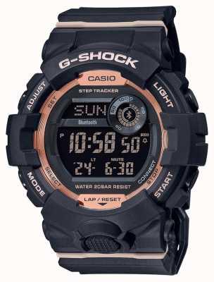 Casio G-shock | escouade g | bracelet en caoutchouc noir | Bluetooth GMD-B800-1ER
