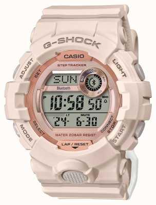 Casio G-shock | escouade g | bracelet en caoutchouc rose | Bluetooth GMD-B800-4ER