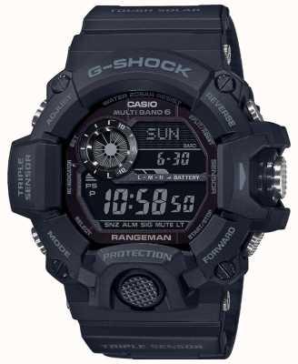 Casio G-shock rangeman | blackout dur solaire radiocommandé | GW-9400-1BER