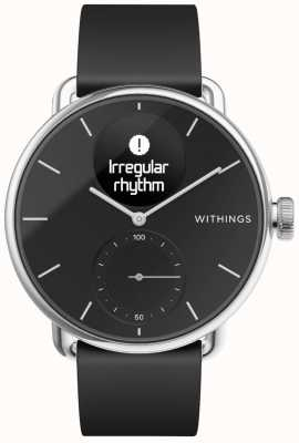 Withings Bracelet en silicone Scanwatch 38 mm - noir HWA09-MODEL 2-ALL-INT