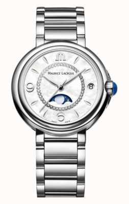 Maurice Lacroix Quartz Fiaba | cadran blanc | bracelet en argent FA1084-SS002-170-1
