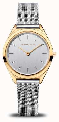 Bering Ultra slim femme | bracelet en maille d'argent | or poli 17031-010