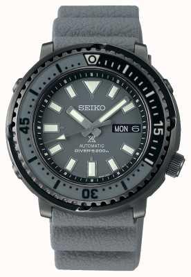 Seiko Rue Prospex | automatique | bracelet en silicone gris SRPE31K1