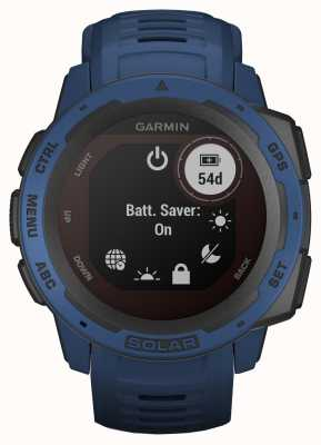 Garmin Bracelet en caoutchouc bleu marée solaire Instinct Solar 010-02293-01