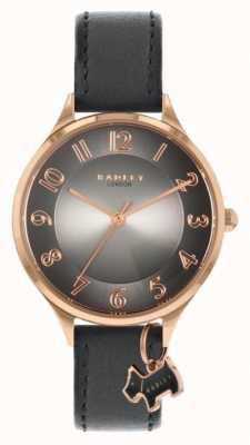 Radley Route de Saxon | bracelet en cuir gris | cadran gris RY2966