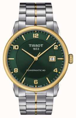 Tissot Powermatic de luxe 80 | cadran vert | bracelet en acier inoxydable T0864072209700