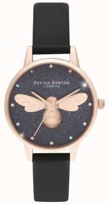 Olivia Burton Montre vegan à cadran midi Rainbow Lucky Bee OB16FB13