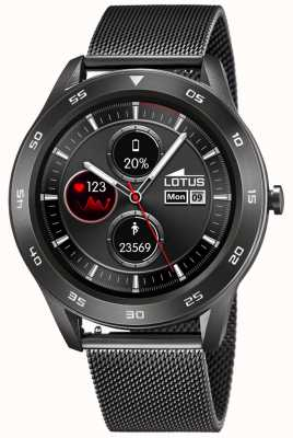 Lotus Hommes | smartime | maille gunmetal + sangle libre 50011/1