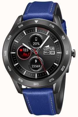 Lotus Smartime | hommes | bracelet en cuir bleu + bracelet gratuit L50012/2