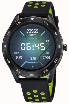 Lotus Smartime | hommes | bracelet en silicone noir + bracelet gratuit L50013/1