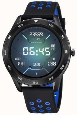 Lotus Smartime | hommes | bracelet en silicone noir + bracelet gratuit L50013/3