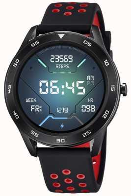 Lotus Smartime | hommes | bracelet en silicone noir + bracelet gratuit L50013/4