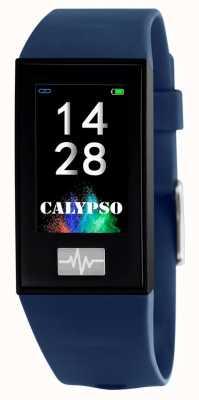 Calypso Unisexe | smartime | bracelet en silicone bleu + bracelet gratuit K8500/5