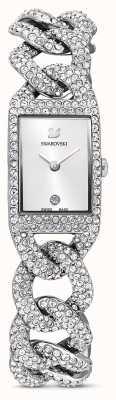 Swarovski | montre cocktail | ensemble de cristal | bracelet en acier inoxydable | 5547617