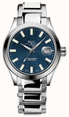 Ball Watch Company Ingénieur masculin iii auto   édition limitée   montre à cadran bleu NM2026C-S27C-BE