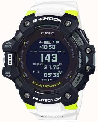Casio G-shock | g-squad | moniteur de fréquence cardiaque | bluetooth | blanc | GBD-H1000-1A7ER