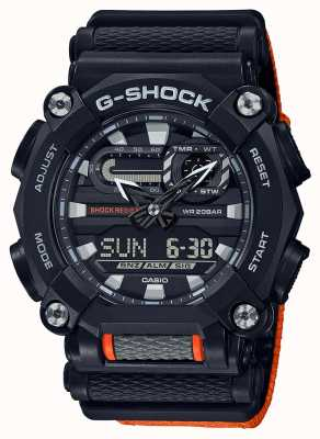 Casio G-shock | robuste | heure du monde | Orange GA-900C-1A4ER