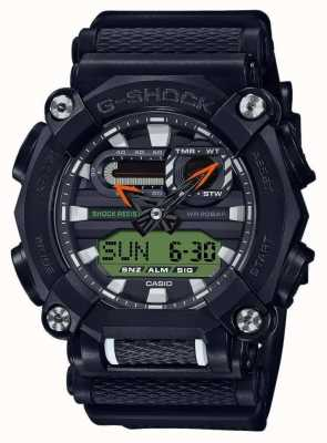 Casio G-shock | robuste | heure du monde | noir GA-900E-1A3ER