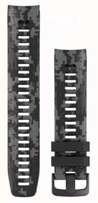 Garmin Bracelet montre camouflage gris graphite Instinct 010-12854-27