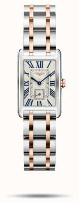 Longines Dolcevita élégance bracelet bicolore femme L52555717