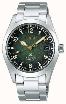 Seiko Prospex alpiniste | hommes | cadran vert | bracelet en acier inoxydable SPB155J1