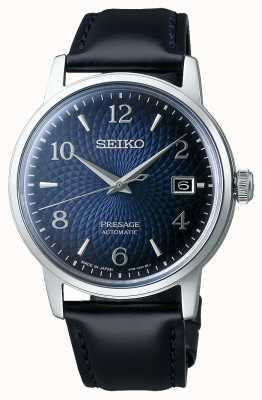 Seiko Presage | cocktail | cadran bleu | automatique | vieille horloge SRPE43J1