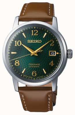 Seiko Presage | automatique | cadran vert | mojito | date | d'or SRPE45J1