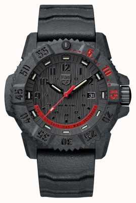 Luminox Master Carbon Seal 3800 édition limitée noir et rouge XS.3801.EY