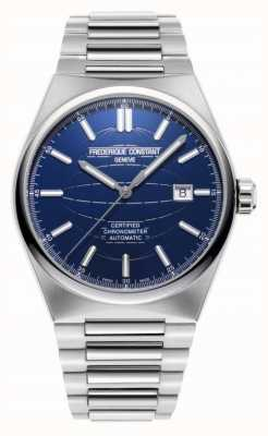 Frederique Constant Highlife | automatique | bracelet en acier | sangle supplémentaire | cosc FC-303N4NH6B