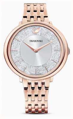 Swarovski Crystalline | bracelet en acier plaqué or rose | cadran scintillant 5544590