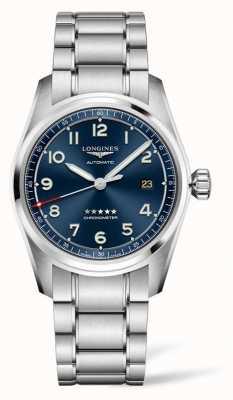 Longines Spirit Edition Prestige Cadran Bleu Acier Inoxydable 40mm L38104939