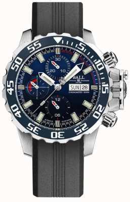 Ball Watch Company Ingénieur hydrocarbures nedu   bracelet en silicone noir DC3026A-P3C-BE