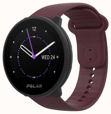 Polar | unir | bracelet en silicone prune | étui noir | 90083110