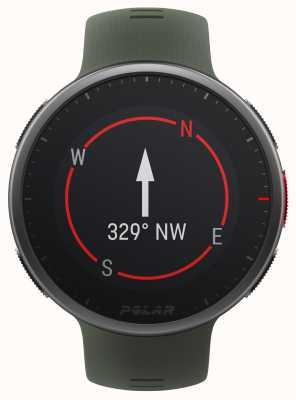Polar | vantage v2 premium | montre multisports | noir / vert | 90083653