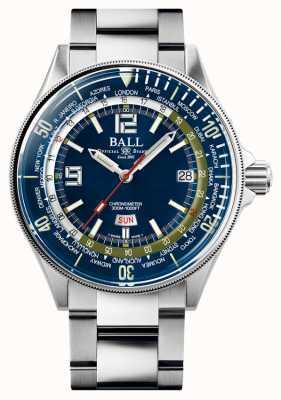 Ball Watch Company Ingénieur master ii diver worldtime | cadran bleu | 42 mm DG2232A-SC-BE