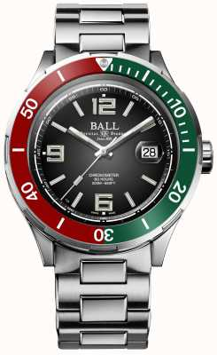 Ball Watch Company Roadmaster m   archange   édition limitée   chronomètre DM3130B-S7CJ-GR