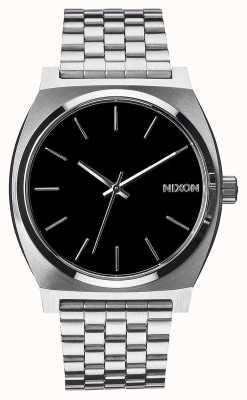 Nixon Time Teller | noir | bracelet en acier inoxydable | cadran noir A045-000-00