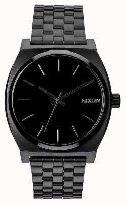 Nixon Time Teller | tout noir | bracelet en acier ip noir | cadran noir A045-001-00