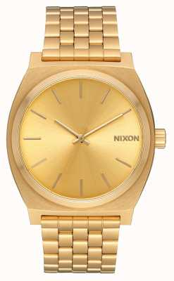 Nixon Time Teller | tout or / or | bracelet ip or | cadran en or A045-511-00