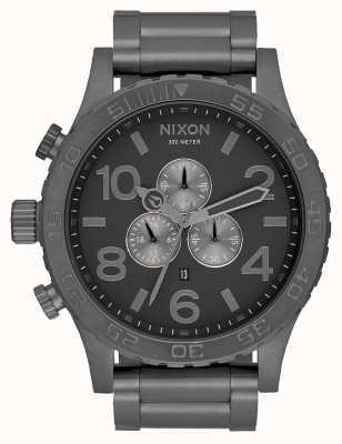 Nixon 51-30 chrono | tout bronze | bracelet en acier bronze | cadran bronze A083-632-00