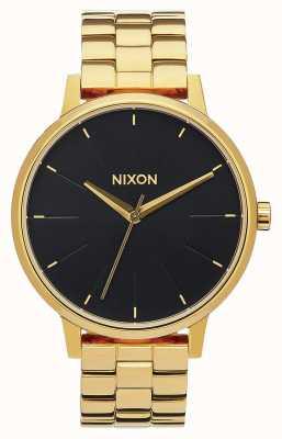 Nixon Kensington | tout or / rayon de soleil noir | bracelet ip or | cadran noir A099-2042-00