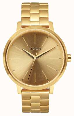 Nixon Kensington | tout l'or | bracelet en acier ip or | cadran en or A099-502-00