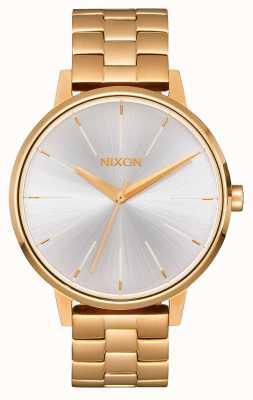 Nixon Kensington | or / blanc | bracelet ip or | cadran argenté A099-508-00