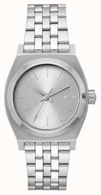 Nixon Caissier moyen | tout argent | bracelet en acier inoxydable | cadran argenté A1130-1920-00