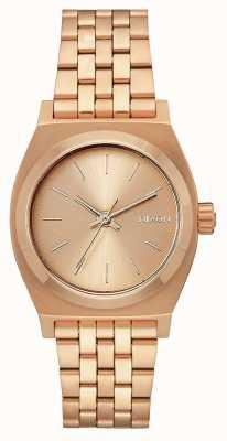 Nixon Caissier moyen | tout en or rose | bracelet en acier ip or rose | A1130-897-00